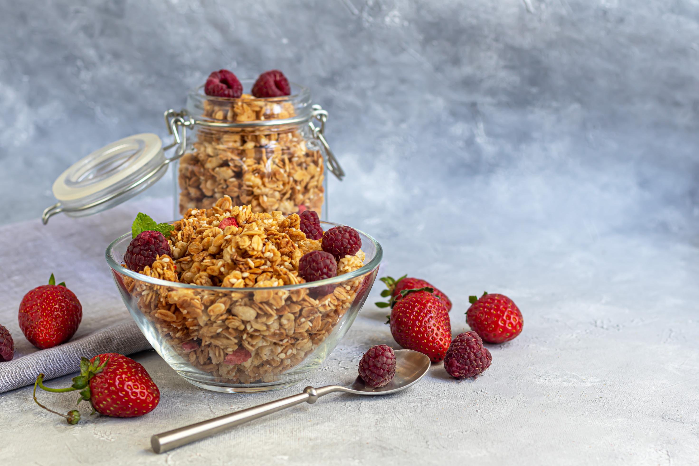 Cereali da colazione muesli